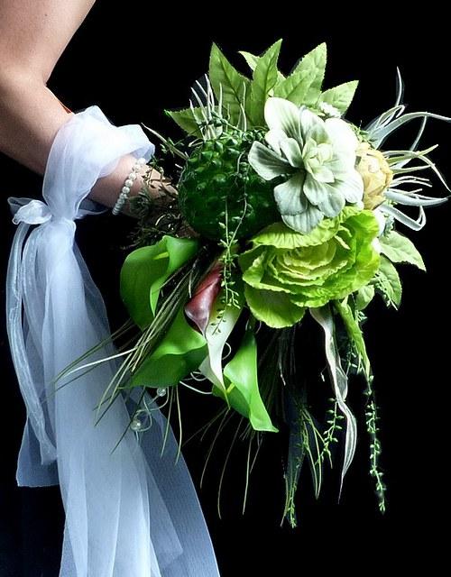 Svatební kytice Jungle + korsáž - Obrázek č. 5