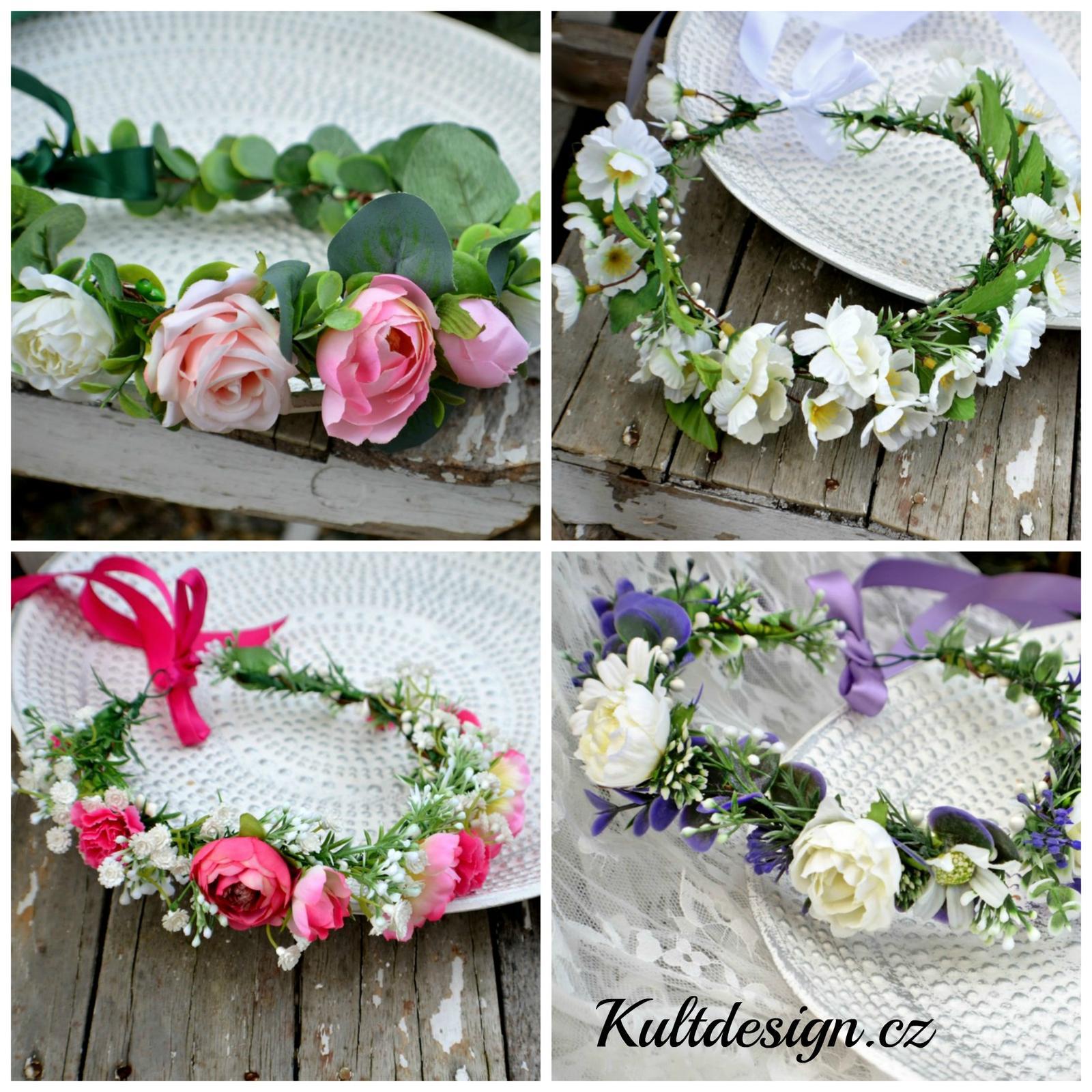 Nové květinové věnečky - http://www.kultdesign.cz/666design-cz/eshop/39-1-VENECKY