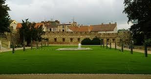 Místo obřadu - zámecký park Jičín (modlím se, aby nepršelo)