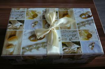 Krabička na gratulace a přání