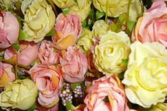 Detail růžiček