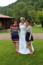 Tři grácie - máma, sestra a já
