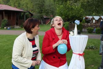 Helium zbylo, takže super zábava :)