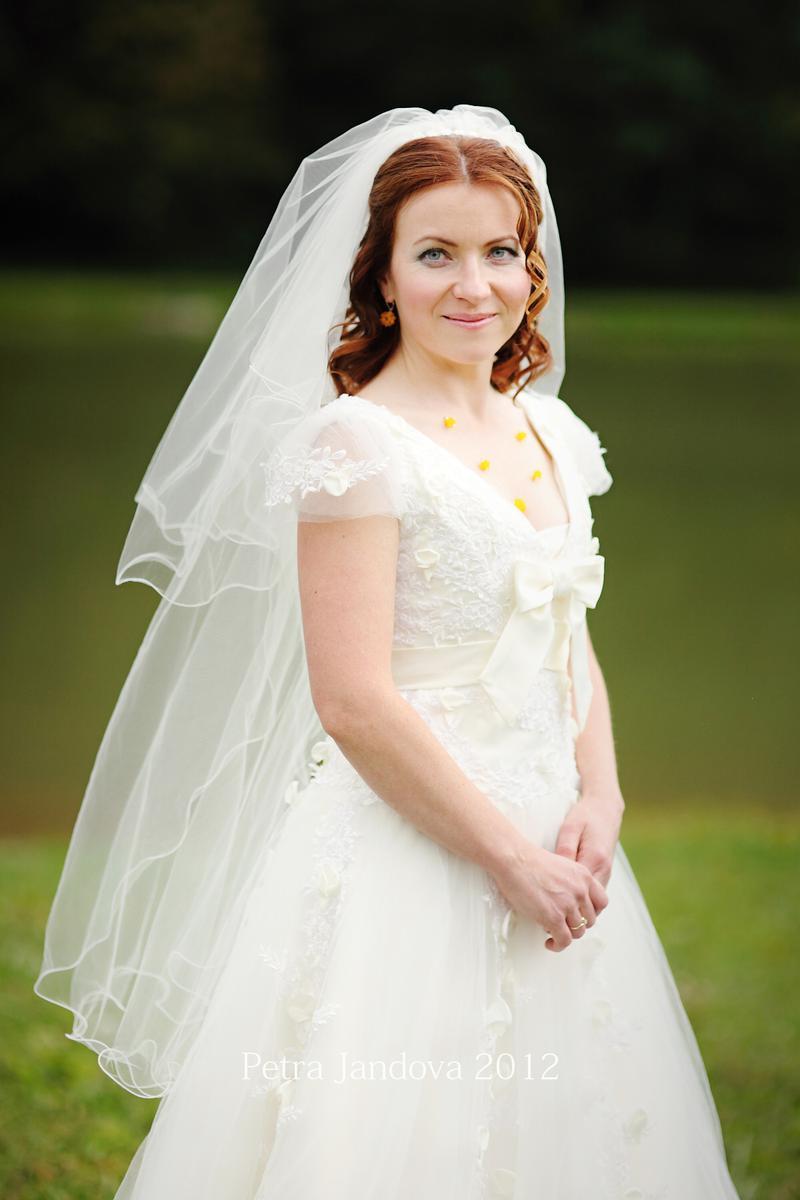 Překrásné svatebky vel. 36/38 na výšku 160 cm - Obrázek č. 1