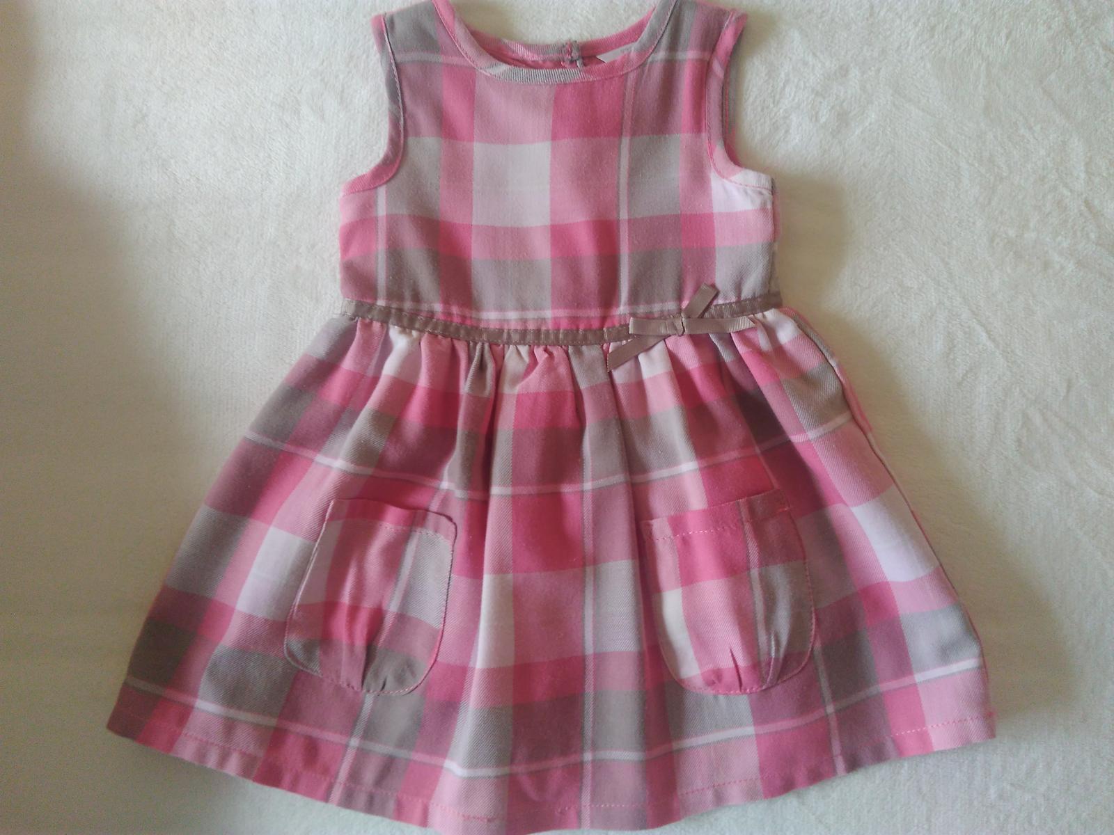 Sváteční šaty vel. 86/92 TOP STAV.  - Obrázek č. 1