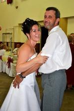 ..prvý manželský tanec..