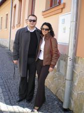 oslava našich zásnub - penzión Bebek, Fiľakovo 15.3.2008