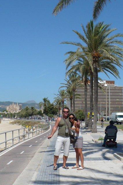 Olinka Surová{{_AND_}}Andy Fehér - Palma de Mallorca