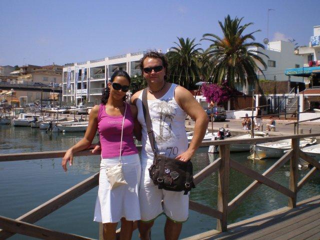 Olinka Surová{{_AND_}}Andy Fehér - prístav Porto Cristo