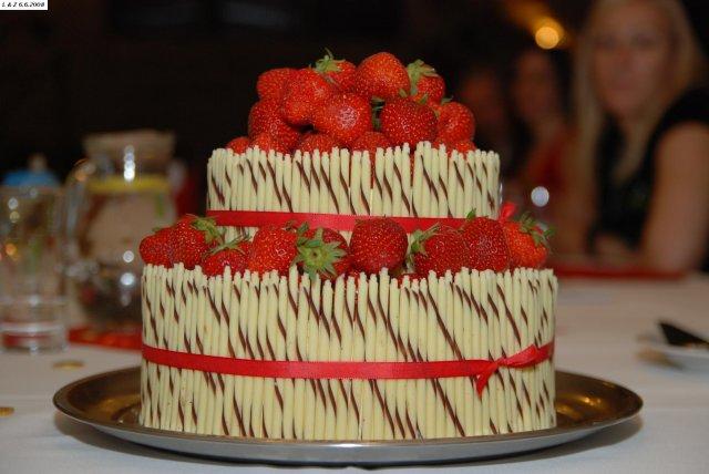 Lenka{{_AND_}}Zbynďa - svatební dort