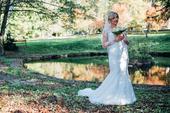Romantické svadobné šaty 38, 38