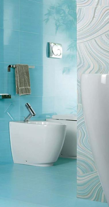 Ako si staviame sen - inšpirácie na kúpelňu - Naxos (IT) - seria Kilim / Azur