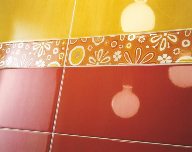 Ako si staviame sen - inšpirácie na kúpelňu - Ragno (IT) - seria Summer / oranzova