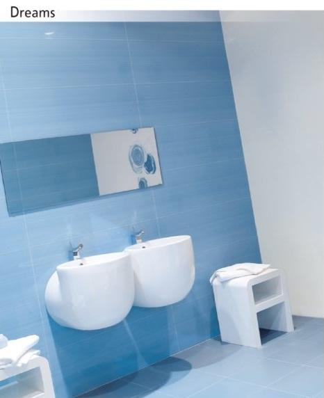 Ako si staviame sen - inšpirácie na kúpelňu - Novagres (PT) - seria Dreams