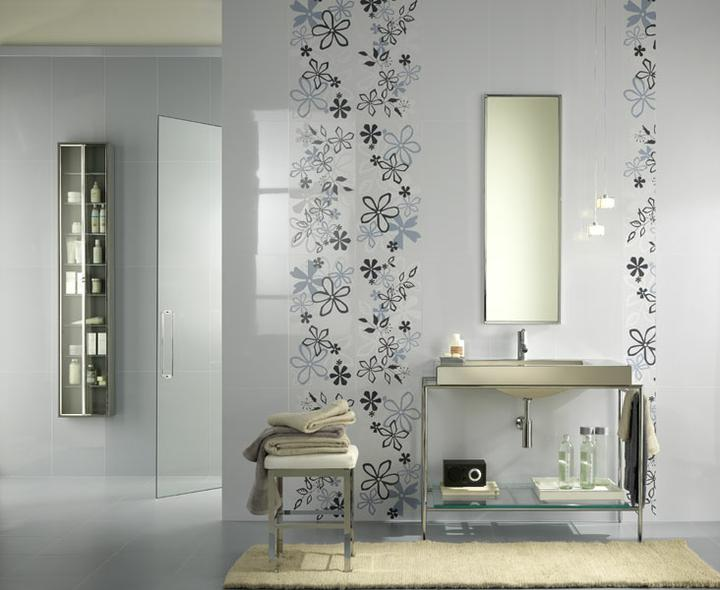 Ako si staviame sen - inšpirácie na kúpelňu - Ceramichelea (IT) - seria Lilla Chiaro / siva
