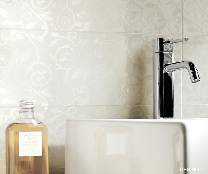 Ako si staviame sen - inšpirácie na kúpelňu - Cerim (IT) - seria Glossy Wallight / bianco