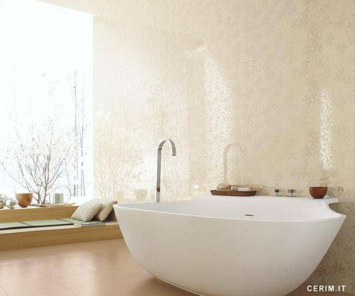 Ako si staviame sen - inšpirácie na kúpelňu - Cerim (IT) - seria Glossy Corda