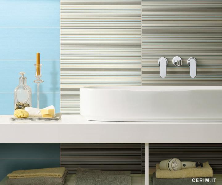 Ako si staviame sen - inšpirácie na kúpelňu - Cerim (IT) - seria Pure Colour / sky blue