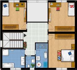 poschodie - navrh c.1