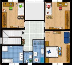 poschodie - navrh c.2