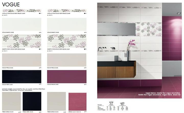 Ako si staviame sen - inšpirácie na kúpelňu - Armonie by Arte Casa (IT) - seria Vogue