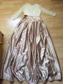 saténová sukňa, 38