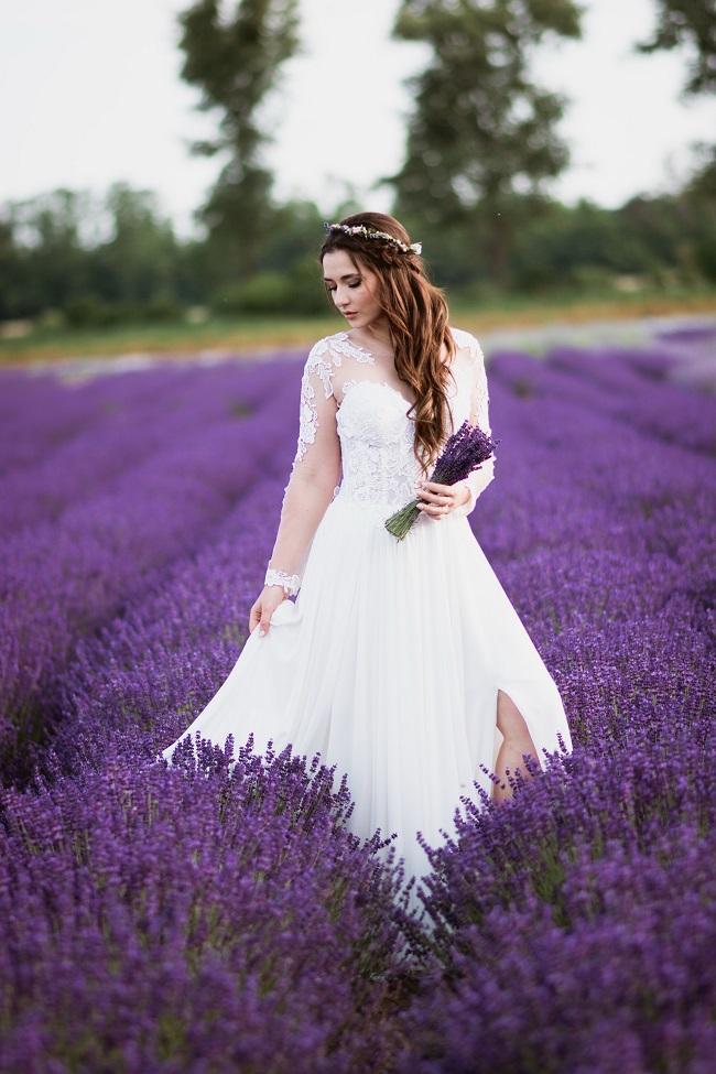 Levanduľová krása - www.soiree.sk