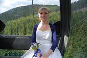 svatební šaty 34-38 i , 34