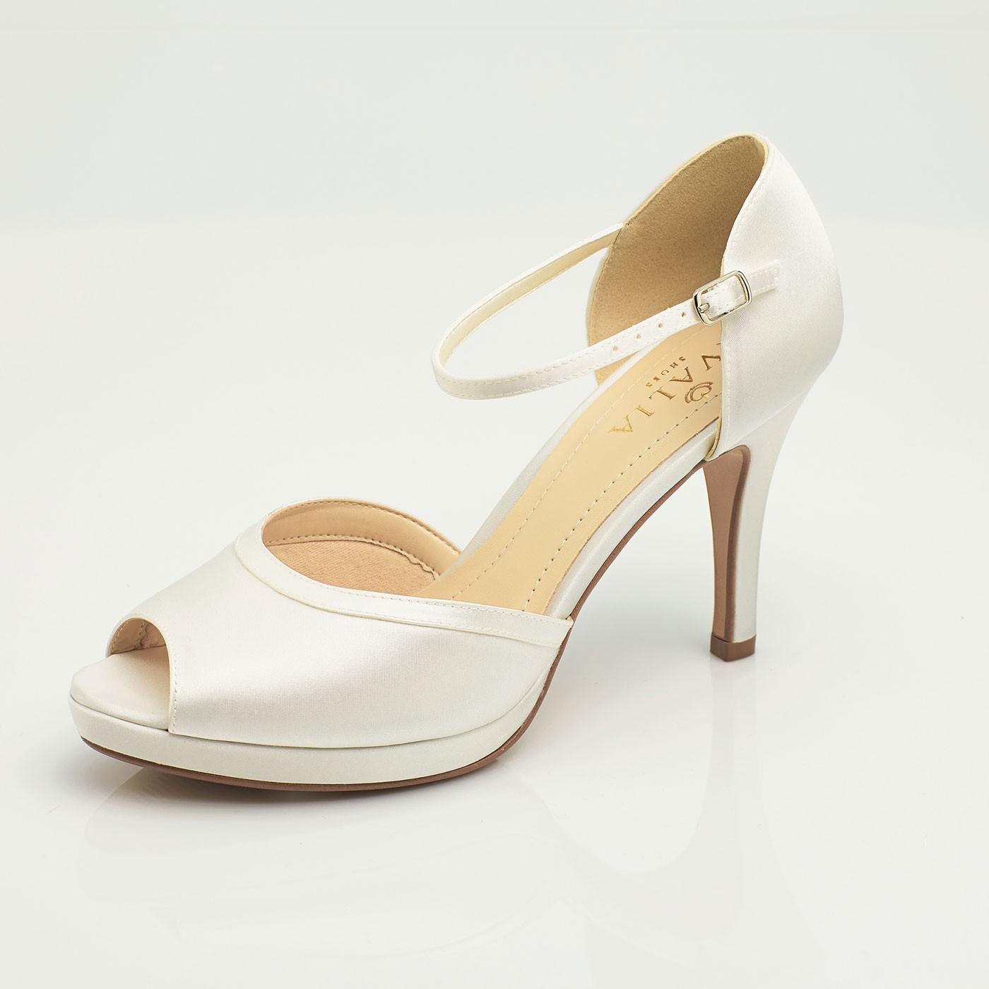 Svadobné topánky - nové - Obrázok č. 1