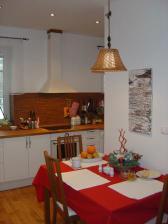 Kuchyňa pred Vianocami.