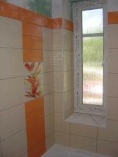 Kúpeľňa pred dokončením.