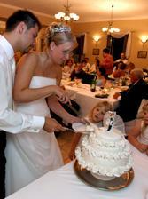 Torta bola nádherná, presne podľa fotky, ktorú sme poslali. A chutila výborne!