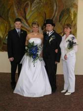 svědci - můj bratr a Petra sestra z Ostravy