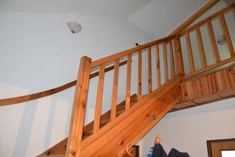 Schody do patra, které se ruší avznikne strop.
