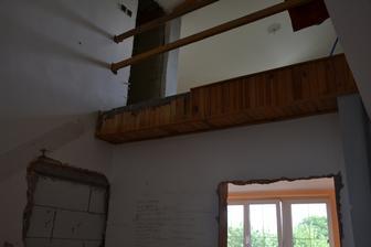 Už bez schodů - odstranění nebyla zas až taková hrůza, jak se původně zdálo.