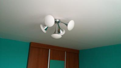 Nové světlo u dcery v pokoji