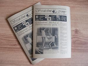 konečně jsem je dodělal :-) svatební noviny 28stran :-D strašně jsem se pobavil...to bude moje třešnička na dortu...