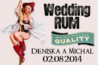 Svatební rum v novém kabátě ;-)