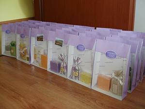 Voňavé dárečky a odměny za soutěže připraveny :-)