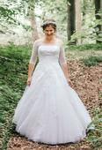 Krajkové svatební šaty Pronovias Donaire, 38