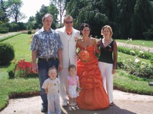 Má sestra s přítelem  a dvojčaty