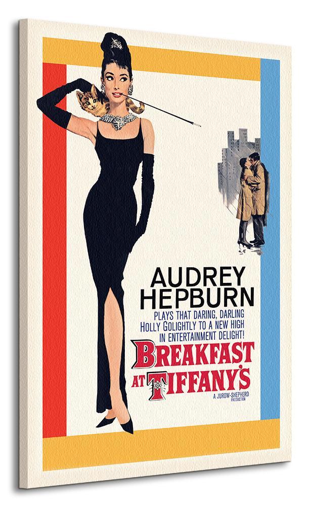 Dizajnové obrazy na zeď - Audrey Hepburn - Snídaně u Tiffanyho