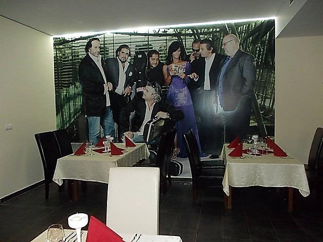 Fototapety - realizace zakázek - Fototapeta z vlastní fotky v restauraci v Bratislave