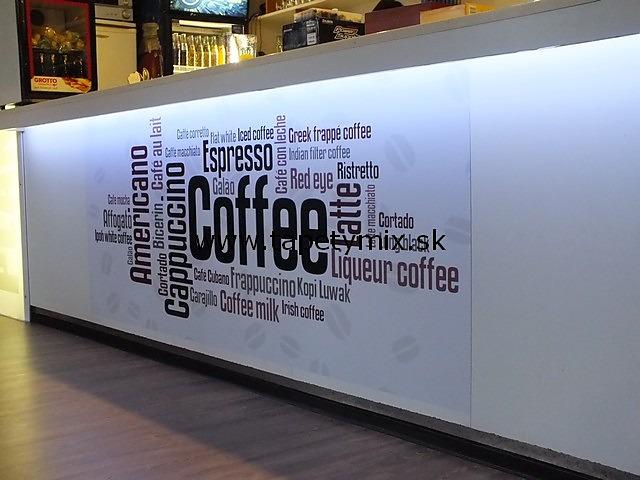 Fototapety do kuchyně - na kuchyňskou linku, na zeď, na skřínky - Fototapeta Coffee v restauraci- REALIZACE