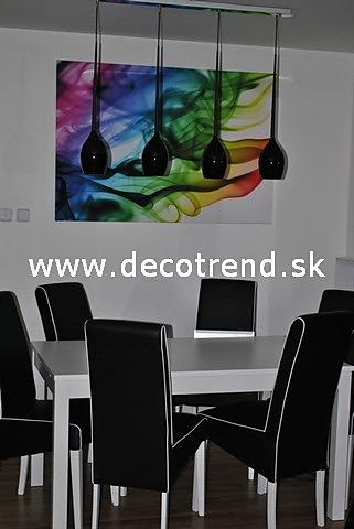 Obrazy na stěnu - v interieru našich zákazníků - Barevné obrazy na plátně