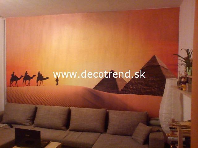 Fototapety - realizace zakázek - Fototapeta na stěne v interiéri