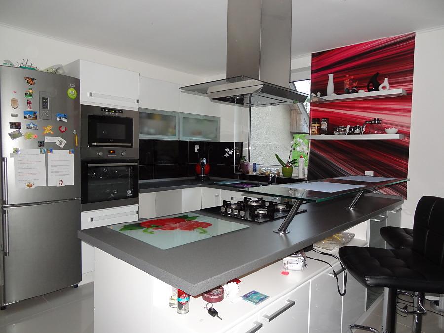 Fototapety do kuchyně - na kuchyňskou linku, na zeď, na skřínky - Kuchyně - Abstraktní fototapeta na míru na zdi