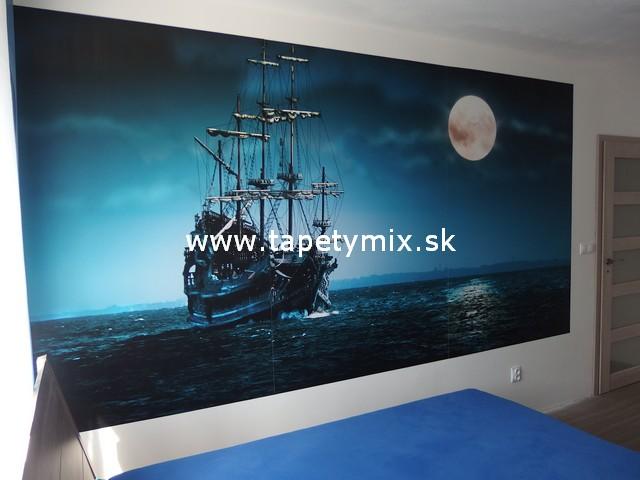 Fototapety - realizace zakázek - Vliesová tapeta na míru Loď na moři