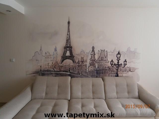 Fototapety - realizace zakázek - Fototapeta na zeď Paříž