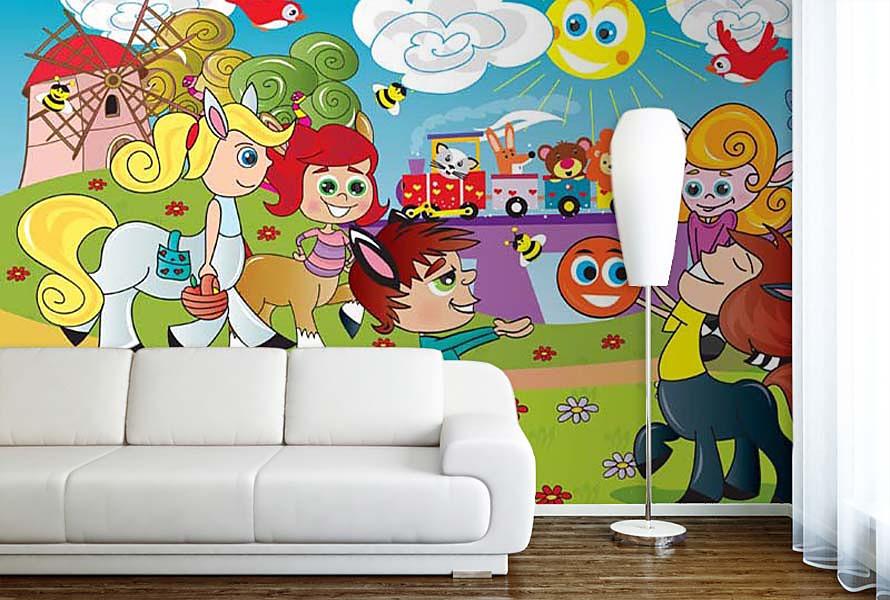 Fototapety do dětského pokoje - Obrázek č. 37